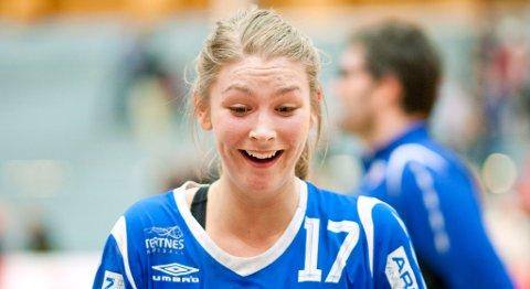 Marthe Reinkind banket inn ni mål for Tertnes i kampen mot Kristiansand Vipers. Hun ble kåret til banens beste spiller.