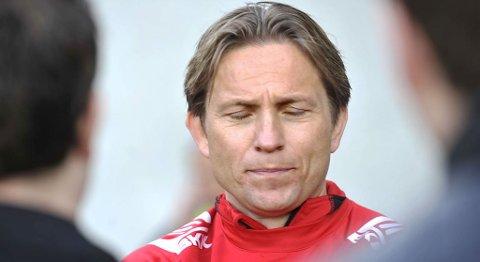 Brann-trener Steinar Nilsen etter cuptapet for Fyllingen (18.05.2010).