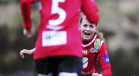 Kristine Hegland på Arna-Bjørnar.