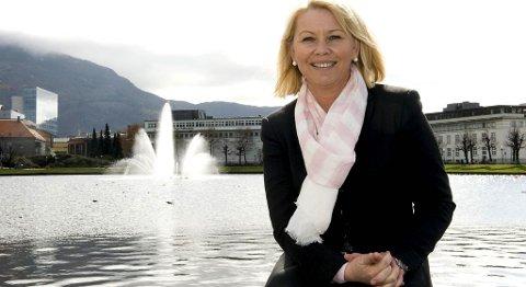 Høyres Monica Mæland (27.04.2010).