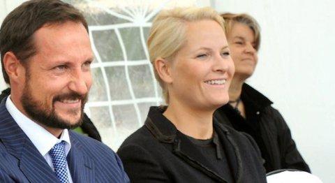 Kronprins Haakon og kronprinsesse Mette-Marit (30.08.2010).