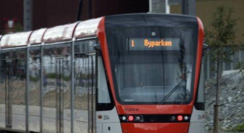 Bybanen i Bergen (arkivfoto).