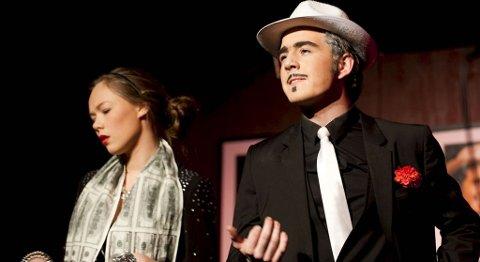 Fra premieren på Fana skoleteater sitt nye show (08.01.2011).