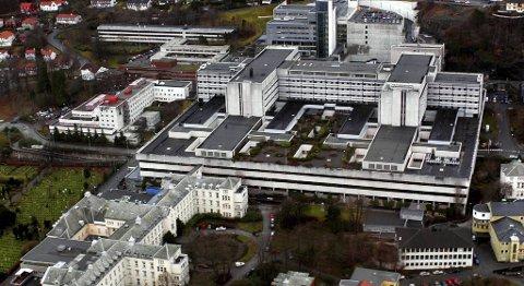 Haukeland sykehus.