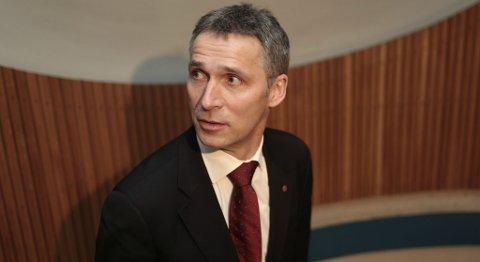Jens Stoltenberg.