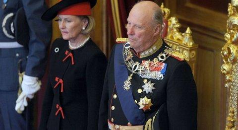 Kong Harald og Dronning Sonja.