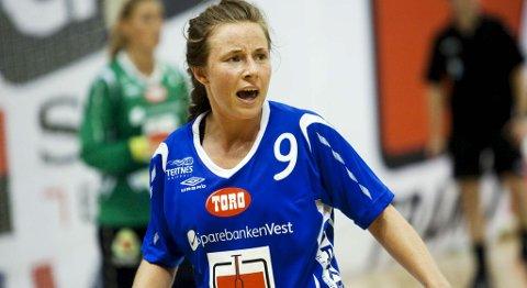 Tertnes-spiller Jeanette Haga Holgersen (11.09.2010).