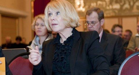Monica Mæland tror på en vanskelig valgkamp.