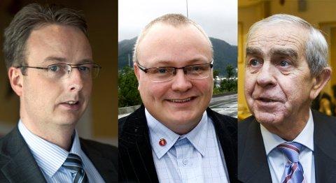 Terje Søviknes, Bjarte Vatnøy og Georg Indrevik.