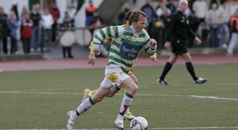 Tor-Mattis Kåven i aksjon for Løvene i 2006