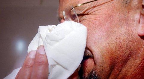 Bare 10 prosent av dem som har mykoplasma får også lungebetennelse som de trenger antibiotika for å bli kvitt.