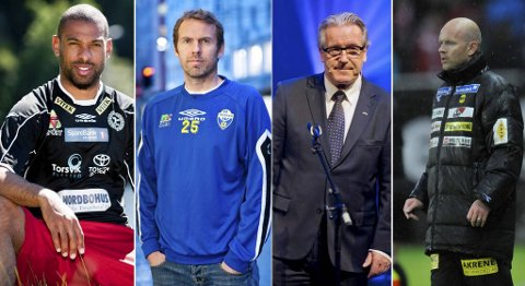 David Nielsen,  Roy Wassberg, Davy Wathne og Henning Berg er ikke helt enige om hva som feiler Brann.