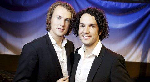 KAN BLI GULLRUTE-GROSSISTER: Brødreduoen Ylvis er nominert til hele fire Gullruten-priser for showet «I kveld med Ylvis».