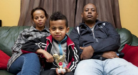 Nathan og familien lever i total uvitenhet om hva fremtiden skal bringe. Nå skjermes Nathan for pressen. (Arkivfoto)