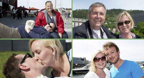 Kay Hixson og Larry Hixson, Wilhem Susman og Petra Susman, Vegard Waagan og Veronica Strøm og Maren Grevstad Pettersen og Anders Stabbursvik deler sine trisk for å bevare forholdet med BA.nos lesere.