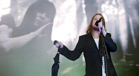Lars Winnerbäck var hovedattraksjonen på første dag av Bergenfest torsdag kveld.
