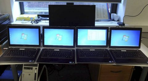 Lyssky virksomhet: Svindlere kjøper PC-er eller annen elektronikk på kreditt, melder varene stjålet, innkasserer forsikringen og leverer deretter varene tilbake til butikken.