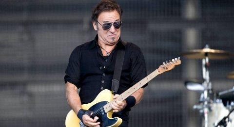 Springsteen under konserten på Koengen i 2009.
