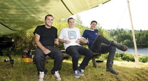 Ivar Brakvatne arrangerer festivalen Brakstock i hagen for tredje år på rad.