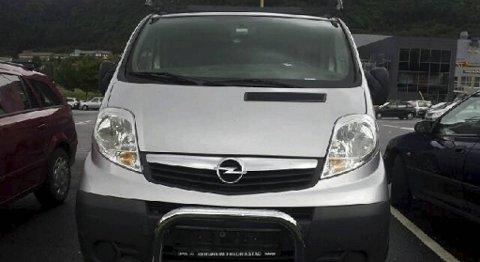 6d85fca2 Bilen som ble stjålet fra Thomas Lundmark på Sotra i går, ble funnet uten  skilter