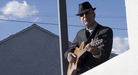 Leonard Cohen spiller i Bergen tirsdag.