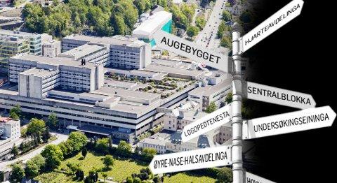 Haukeland sykehus skal ha nynorsk på alle skiltene.