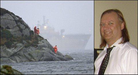 """Svein Kåre Gunnarsons erstatningssak var ifølge Assuranceforeningen Skuld den siste som gjensto etter """"Sleipner""""-ulykken."""