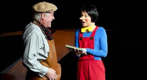 Sebastian Synnevåg er et funn som en naiv og frekk Pinocchio, og Yngve Seterås gir oss en solid Gepetto.