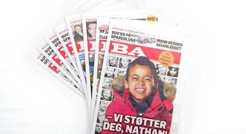 Lesertallene som ble offentliggjort i dag viser at BA øker digitalt, men at lesertallet på papir fortsatt er synkende.