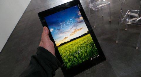 Amobil har prøvekjørt Sonys imponerende Android-brett, Xperia Tablet Z.