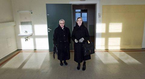 Søster Astrid Merl og søster Mary Doyle har begge jobbet i mange år ved Florida sykehus. - Det var en flott arbeidsplass, mener de to.