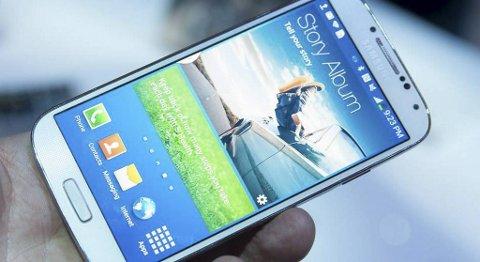 Designen på nye Galaxy S4 skiller seg ikke så mye fra det vi så i forgjengeren.