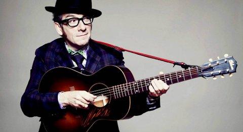 Elvis Costello kommer til Verftet 3. august.