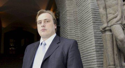 Aage Mjeldheim var i en årrekke profilert advokat. Nå er han konkurs og tiltalt.. Arkivfoto.
