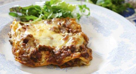 Salat til lasagne