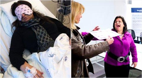 Maria Gjerpe lider selv av ME, og har i løpet av 90 dager samlet inn 2,5 millioner til forskning på sykdommen.