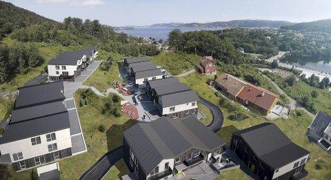 Allerede i september begynner salget av leiligheter i forskjellige størrelser ved toppen av Gravdal. Selskapet Optiboas tror de har mange målgrupper, og at barnefamilier absolutt er blant dem.