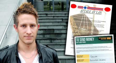 Svenn Ove (28) gikk fem på og betalte 6500 i depositum for å få et lån. Pengene har han ikke sett mer til. Lånet dukket heller aldri opp.