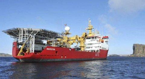Isbryteren HMS «Protector», tidligere Polarbjørn, er solgt fra GC Rieber Shipping til UK Ministry of Defence (MoD).