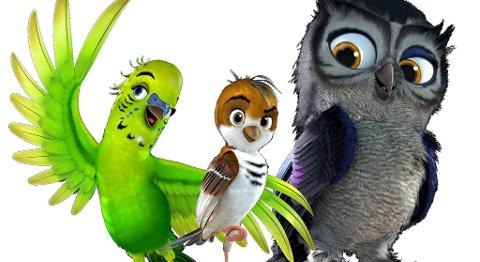 Her er noen av heltene i filmen.