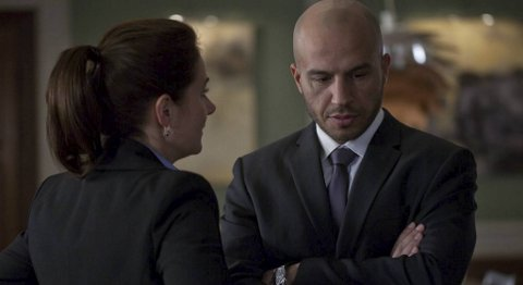 Dar Salim spiller sikkerhetssjefen Peter Thaulow i «Broen».
