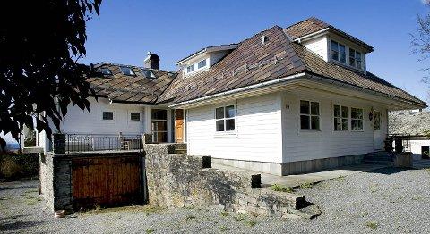 Idar Vollviks villa på Fanahammeren.