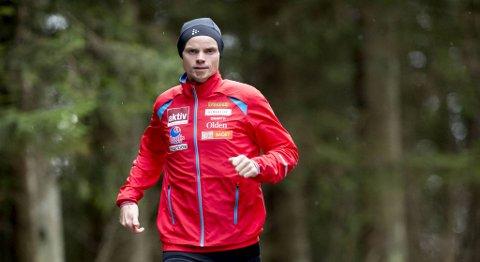 Bjørn Tore Kronen Taranger vant NM i 24-timersløp i helgen.