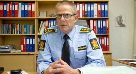 Lensmann Odd Dale på Askøy.