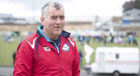 Stig Hammersland, leder i Gneist Idrettslag, er fornøyd med at klubben fikk 200 000 kroner mer i momskompensasjon i år enn i fjor.