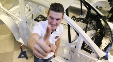 Andreas Bakkerud har signert en fabrikkavtale med Ford og satser på å bli verdensmester i rallycross den kommende sesongen.