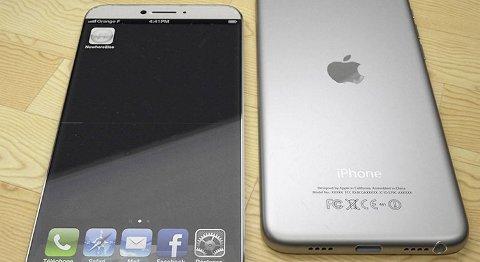 Vil Iphone 6 se slik ut? Det tror i hvert fall konseptartisten Martin Hajek.