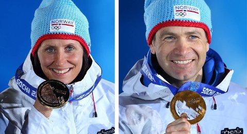 Marit Bjørgen og Ole Einar Bjørndalen har tatt gull. Men de har fått mest sølv.