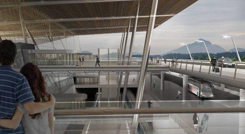 På sikt er planen at Bergen lufthavn Flesland skal vokse kraftig og bli en egen by med en miks av industri, kontor, hotell, forretninger       og tjenesteytende næringer.