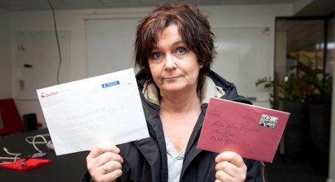 Anita Nesse Rugland synest det er merkelig at Posten så det som nødvendig å åpne brevet hennes bare fordi det manglet husnummer.